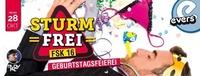 Sturmfrei - Geburtstagsfeierei@Evers