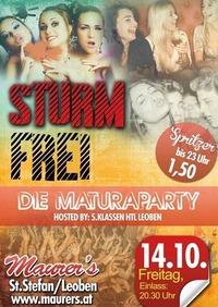 Sturmfrei! - Maturaparty 5.Klassen HTL Leoben@Maurer´s