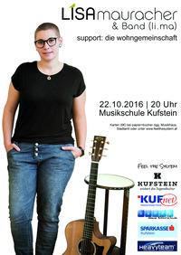 Lisa Mauracher & Band@Konzertsaal Musikschule Kufstein