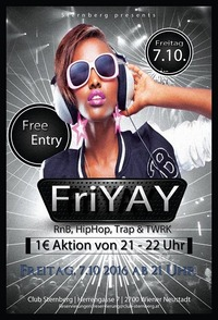 FriYAY - HipHop & RnB@Club Sternberg
