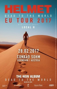 Helmet / Local H / 28-02-17@Conrad Sohm