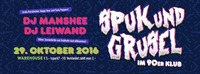 Spuk & Grusel im 90er Klub@Warehouse