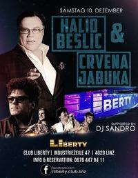 Live Konzert Halid Beslic & Crvena Jabuka  10.12.2016@Club Liberty