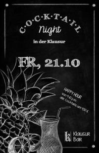 Cocktail Night @Klausur Bar@Klausur Bar