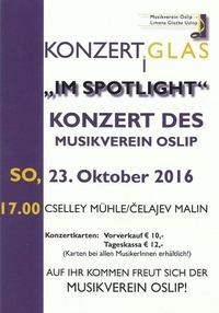 Herbstkonzert - Musikverein Oslip@Cselley Mühle