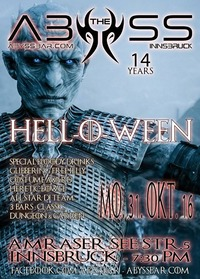 Hell-O-Ween + 14 Jahre ABYSS@Abyss Bar