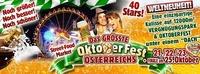 Das größte OKTOBERFEST Österreichs am Schwarzlsee@Schwarzl See