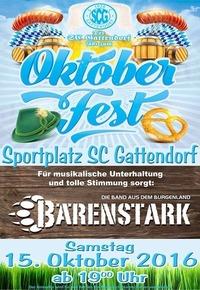 Oktoberfest des SC Gattendorf@Gattendorf Sportplatz