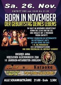 Born in November@Excalibur