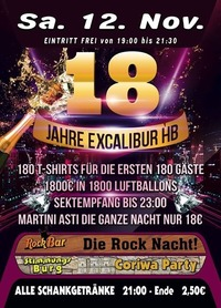 18 Jahre Excalibur HB@Excalibur