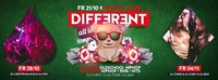 Different - ALL in / 21.10 / Every Friday at Palffy Club@Palffy Club