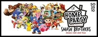 Home Party - Super Smash Brothers@Ride Club