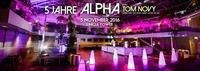 5 Jahre ALPHA mit TOM NOVY im Uniqa Tower@Club Alpha