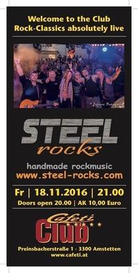 Steel Rocks LIVE @Cafeti Club@Cafeti Club
