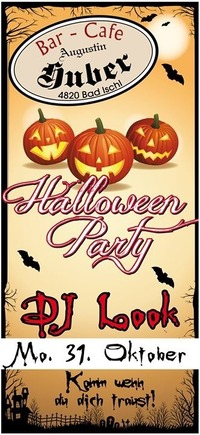 Halloween-Party!@Augustin Huber