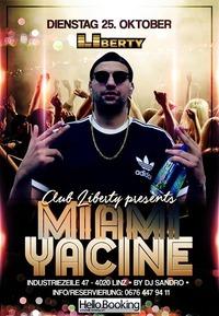MIAMI Yacine - Kokaina KMN Gang Live @ClubLiberty@derHafen