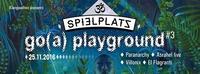 Go(a) playground pres.~Asrahel live&Paranarchy@Club Spielplatz