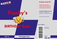 Franky's BIRTHDAY Bash@Marxim