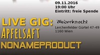 NoNameProduct supported by #Apfelsaft@Weberknecht