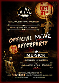 HALLOWEEN PARTY - The VIBE / Mu:Sick@Club Auslage