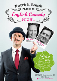 Graz English Comedy Night@Bar28