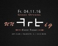UNARTIG CLUB OPENING @Art club