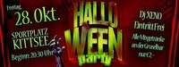 Halloween PARTY Kittsee Fr.,28.10@SC Kittsee Sportplatz