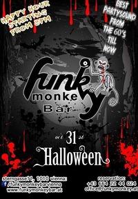 Halloween !!! - Monday October 31st 2016@Funky Monkey