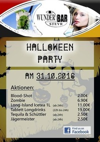 Halloween Party@Wunderbar Steyr