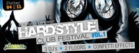 Hardstyle Club Festival Vol. 1@Cheeese