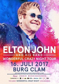 Elton John and his Band@Clam Live