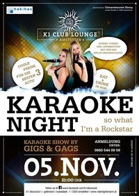 Karaoke Night - So what I'm a Rockstar