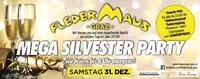 MEGA Silvester PARTY – wir feiern bis 8 Uhr morgens!@Fledermaus Graz