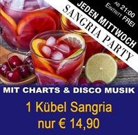 Jeden Mittwoch – Sangria PARTY@Partymaus Wörgl