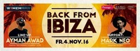 Back from Ibiza@Remembar - Marcelli