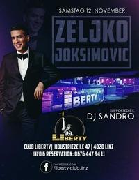 Zeljko Joksimovic - 12.11.2016@Club Liberty