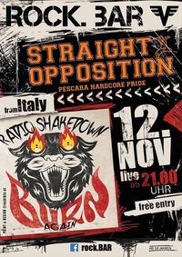 Sraightopposition/Radioshakedown(Italy) live@ rock.Bar@rock.Bar