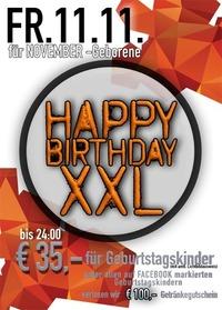 Happy Birthday XXL@Mausefalle Lienz