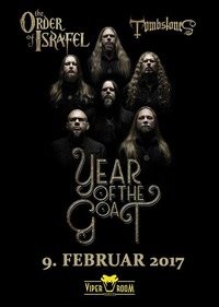 Year Of The Goat / The Order Of Israfel / Tombstones@Viper Room