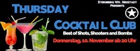 Thursday Cocktail CLUB@Club Sternberg