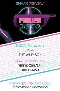 POWER DISCO ϟ Sneak Preview!@The Loft