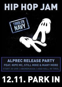 Alprec Release Party — HIP HOP JAM@Park In