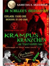1. Krampuskränzchen im Gasthaus Schiller@Schiller´s Biergarten