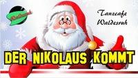 Der Nikolaus kommt !@Tanzcafe Waldesruh