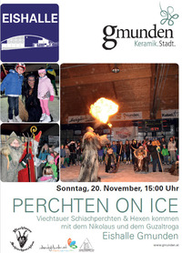 Perchten on Ice@Eishalle