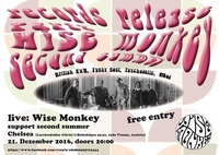 Records release Party Wise Monkey + Second Summer@Chelsea Musicplace
