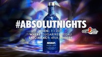 Absolut Nights mit MILK & SUGAR@Sugarfree