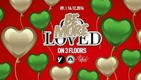 Be MORE Loved - 3 Floors@Volksgarten Wien