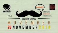 Mustache Sauvage VOL6 - Movember@Wildwechsel
