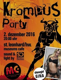 Krampusparty Party@Museums Cafe